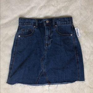 Blue Demin Skirt